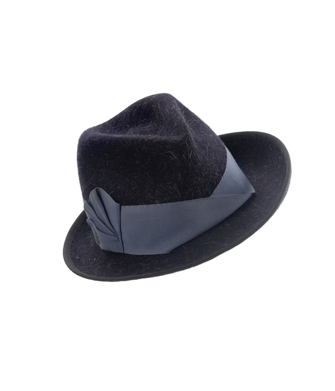 Perching trilby. Fedora hat made in Vermont.