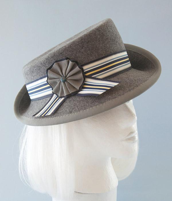 gray1940s ladieshat