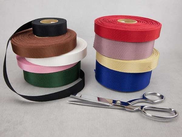 Variety of grosgrain ribbon colors.