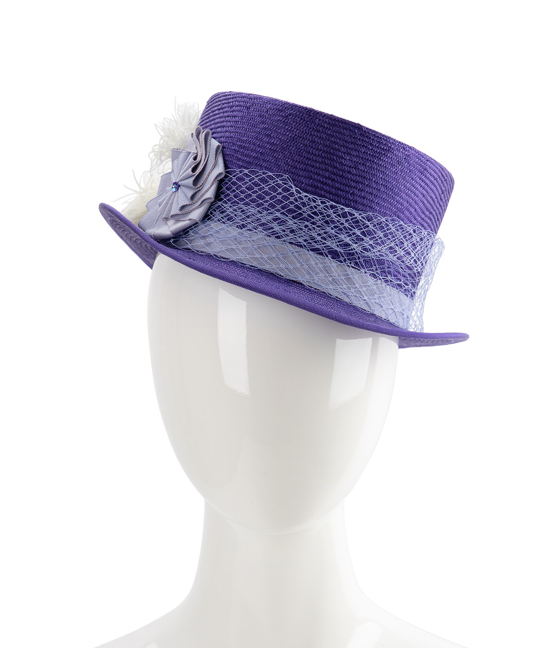 Straw top hat for Kentucky Derby